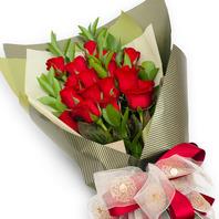 빨간장미꽃다발